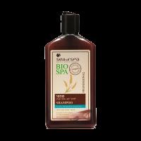 Шампунь с экстрактом арганы и вытяжкой из проросшей пшеницы для окрашенных, тусклых и поврежденных волос