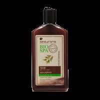 Шампунь с оливковым маслом и экстрактом жожоба  для нормальных и сухих волос