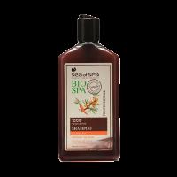 Шампунь с экстрактами моркови и облепихи для укрепления корней волос